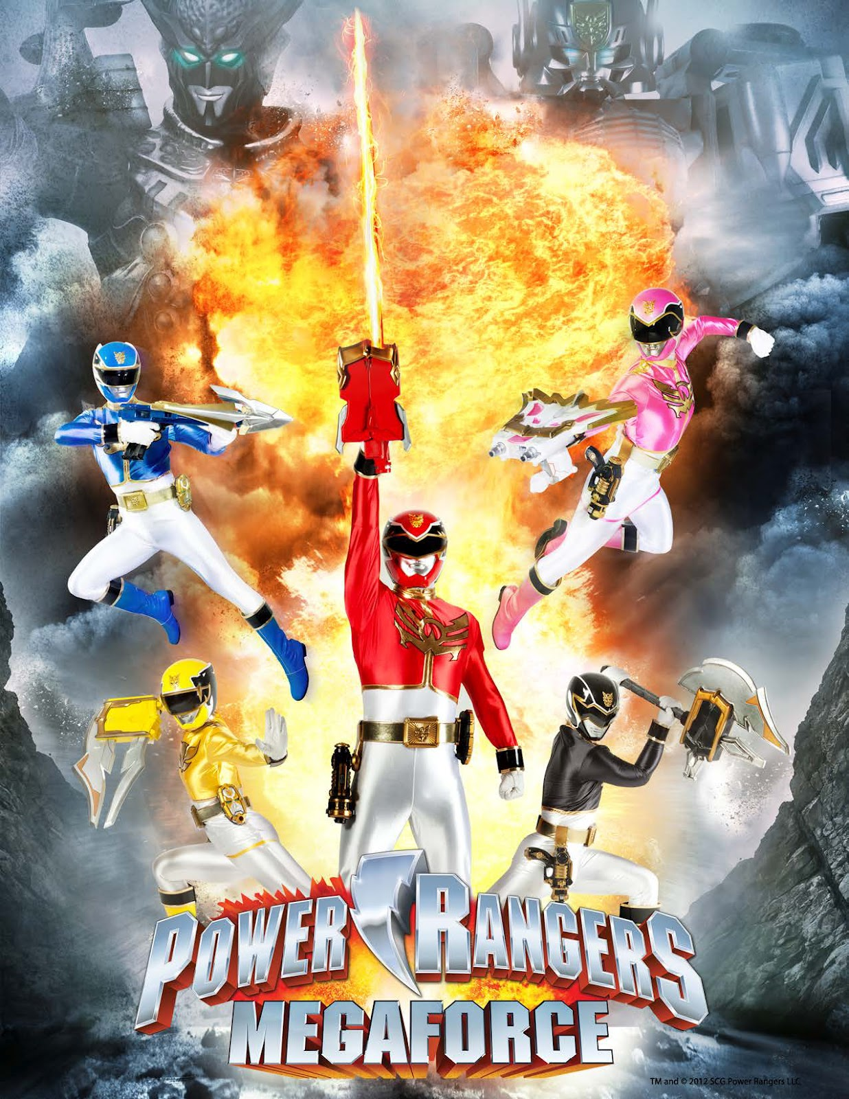 power rangers megafore