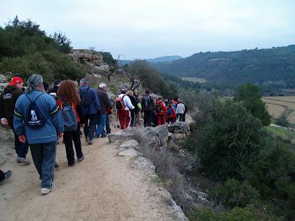 Baixant cap al Llobregat