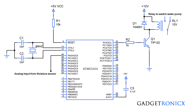 plant-watering-system-AVR-microcontroller