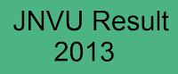 JNVU Result 2013