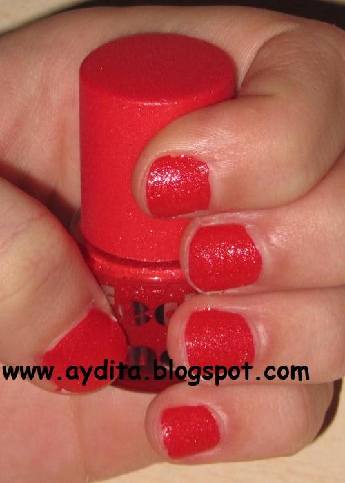 La caja sorpresa del maquillaje: Manicura efecto lima roja con ...