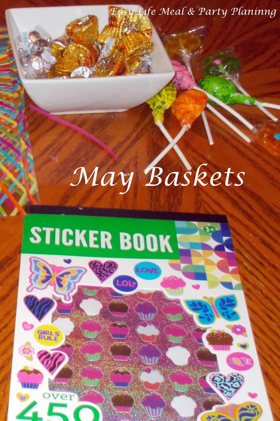 May Day Baskets - Easy Life Meal & Party Planning