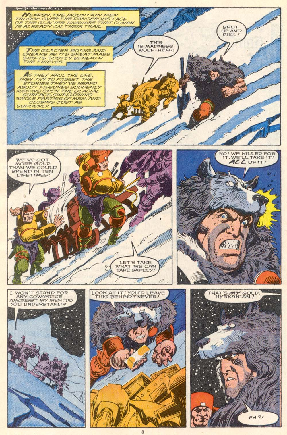 Conan the Barbarian (1970) Issue #220 #232 - English 8