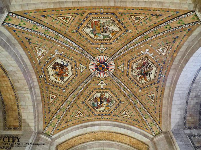 nebraska state capitol ceiling