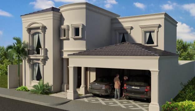 Fachadas De Casas Modernas Fachada De Casa Residencial En
