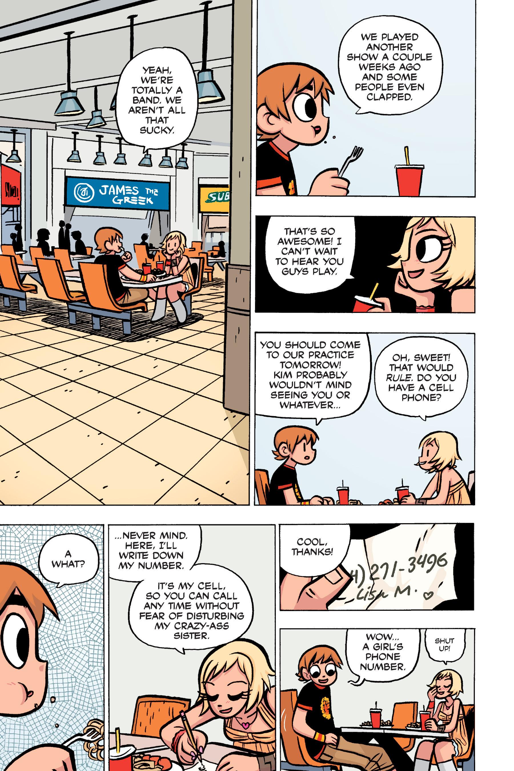 Read online Scott Pilgrim comic -  Issue #4 - 39