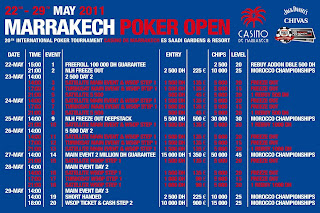 programme marrakesh poker open XX