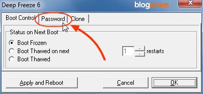 Cara Membuat Password Deep Preeze untuk Keamanan Komputer dan Laptop