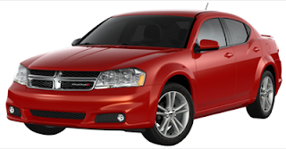 2013 Dodge Avenger Red