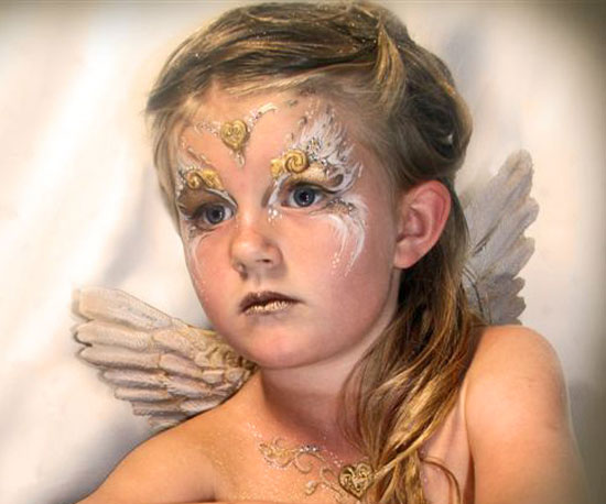 angel halloween makeup - photo #16