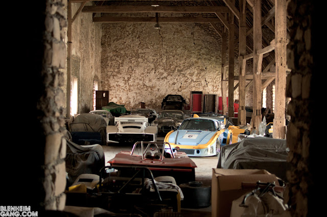 Just A Car Guy Looks Like A Barn Find Race Car Collection
