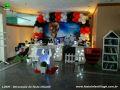 Tema Futebol para decoração de festa de aniversário infantil - Mesa temática infantil