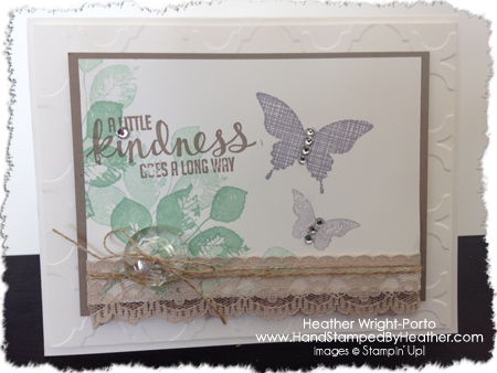 Happy Stampers Blog Hop, Heather Wright-Porto, www.HandStampedByHeather.com featuring Kinda Eclectic