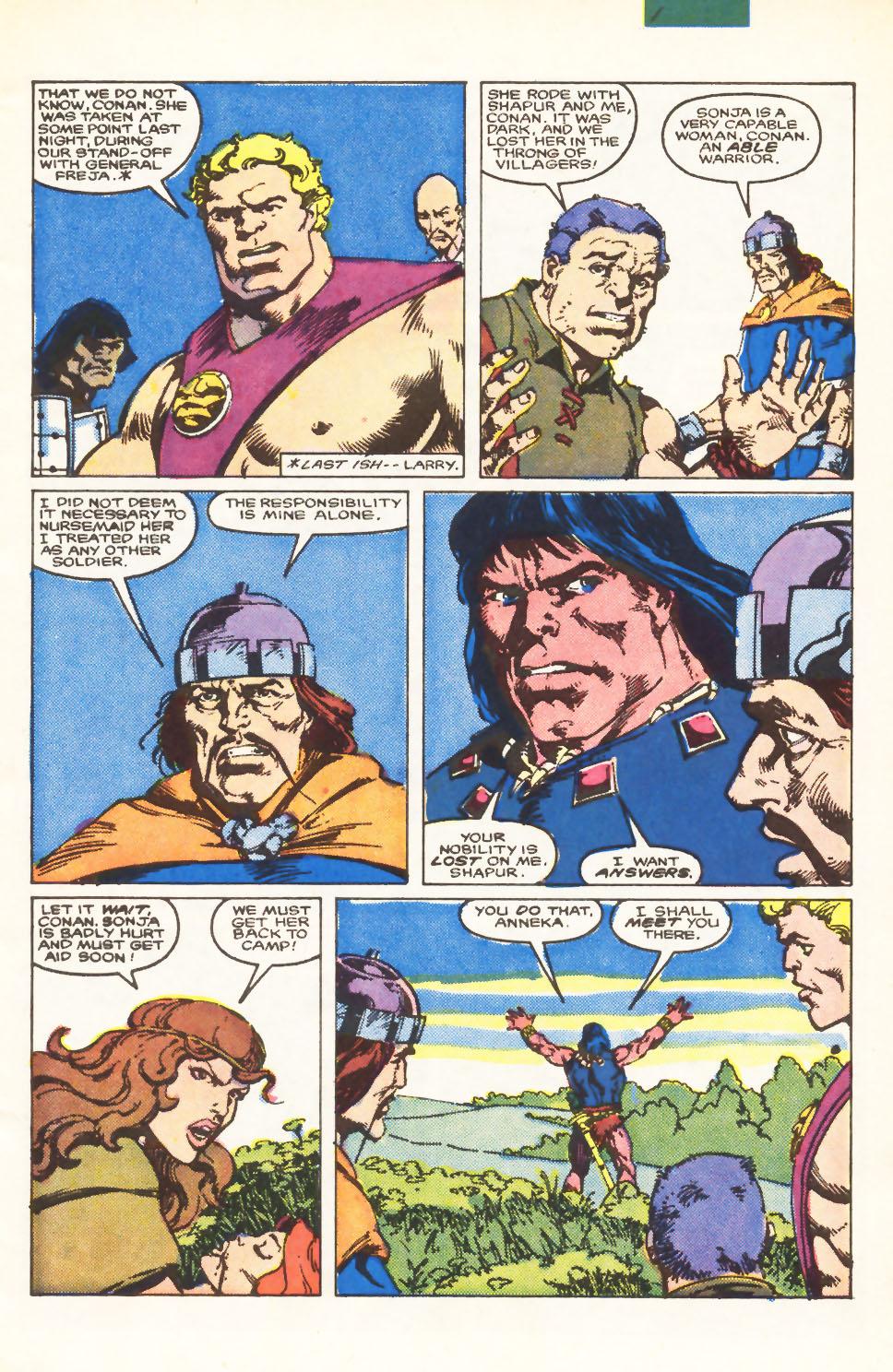 Conan the Barbarian (1970) Issue #198 #210 - English 4