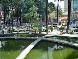 Lago de la tortuga, Saigon (Ho Chi Minh) Vietnam