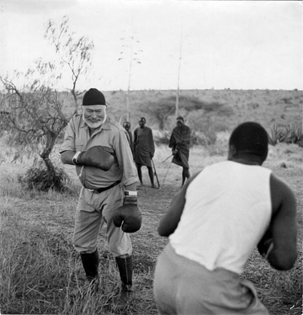 ernest hemingway ernest hemingway boxing in africa