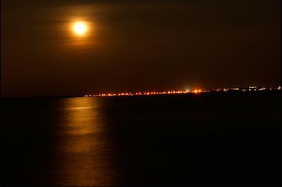 صور عن القمر , صور القمر بالليل