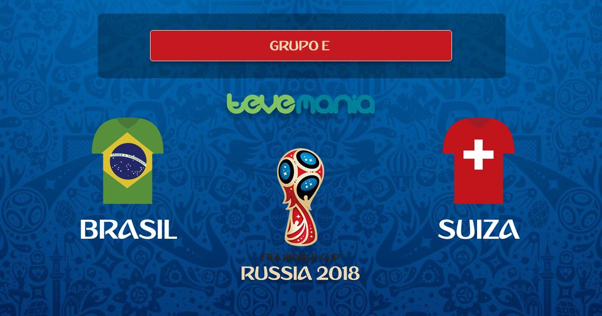 Brasil igualó 1 a 1 con Suiza por el Grupo E del Mundial