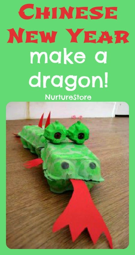 Kid Craft Dragon for Chinese New Year