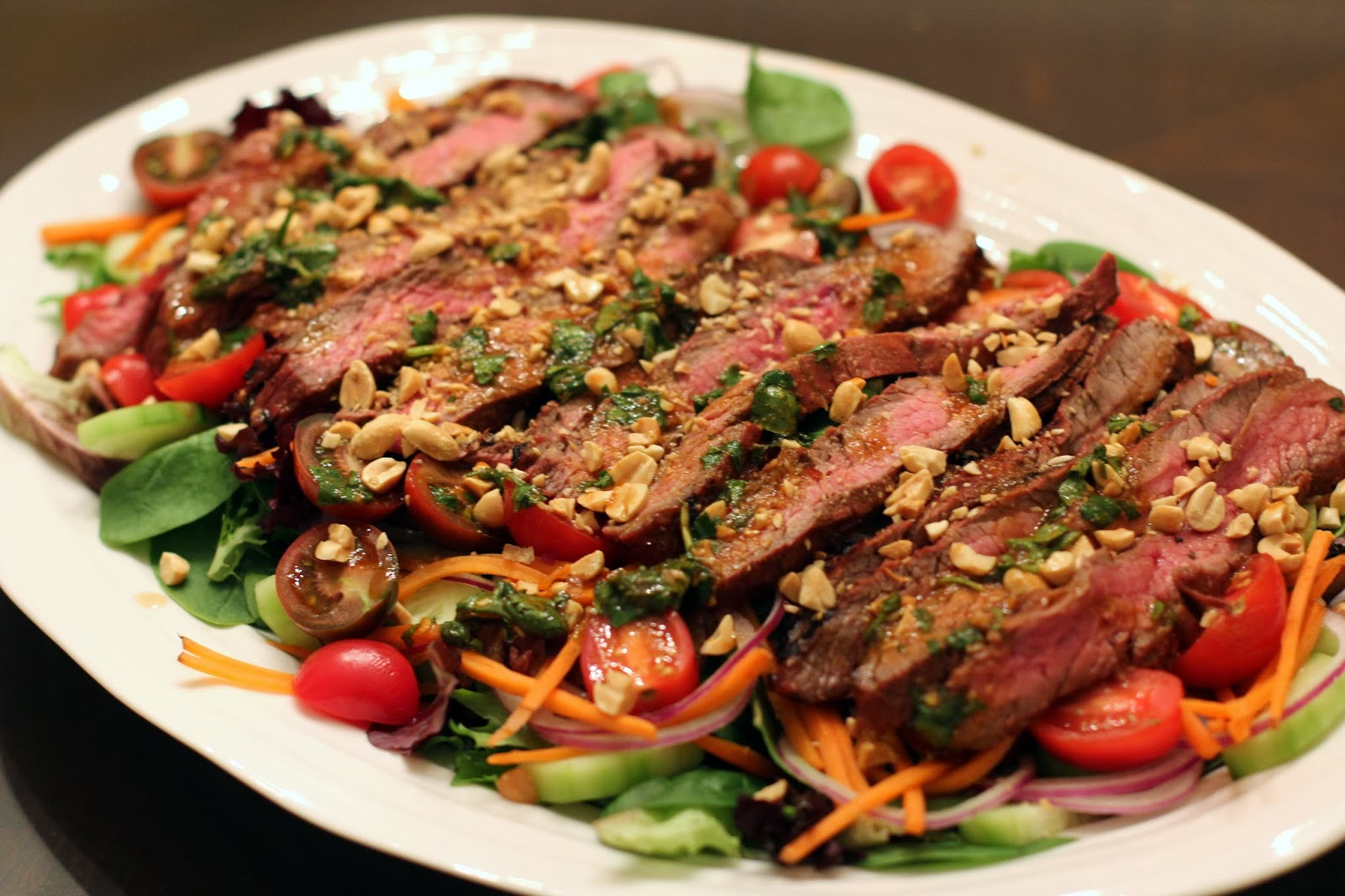 Straight to the Hips, Baby: Spicy Thai Inspired Steak Salad