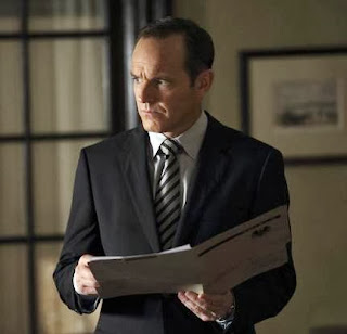 "Agents of S.H.I.E.L.D. episode, ""Girl in the Flower Dress"" - Clark Gregg pictured"