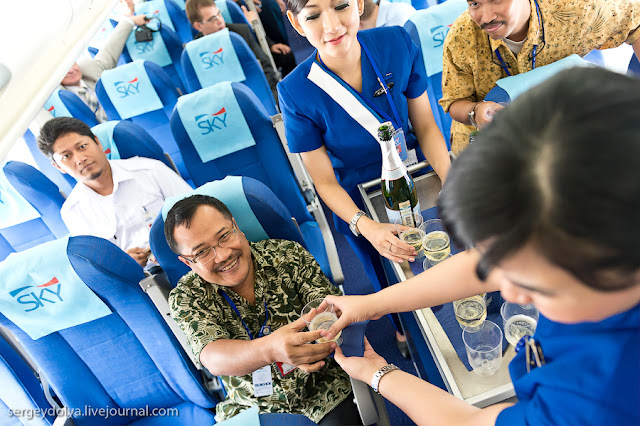 Penumpang dan pramugari Yang Menjadi Korban Sukhoi Superjet 100