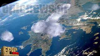 Σύννεφο σε σχήμα ανδρικού μορίου πάνω από την Ελλάδα