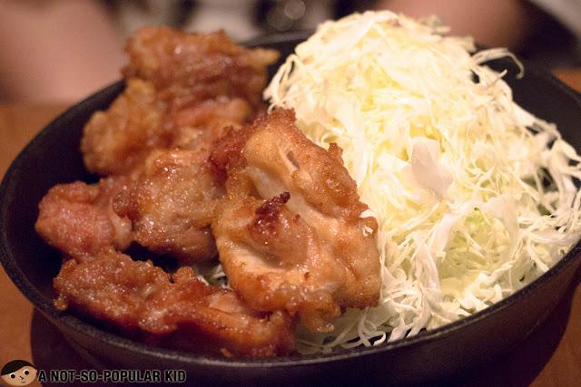 Tokyo Tonteki's Chicken Karaage Set