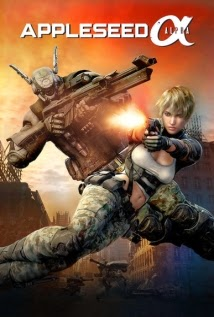 Appleseed Alpha   BRRip 720p Dual Áudio