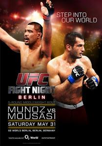 UFC Fight Night: Muñoz vs. Mousasi  HDTV