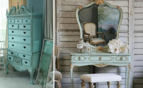 Case shabby chic country