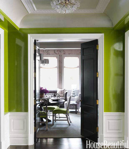 Lulu belle design high gloss and lacquered walls for High gloss interior wall paint