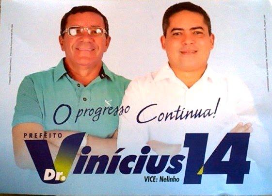O PROGRESSO CONTINUA EM CAIÇARA DO NORTE/RN VOTE 14