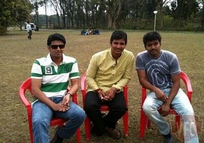 3 Idiots in Tamil - Nanban stills