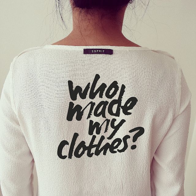 Ask the question: who made your clothes?