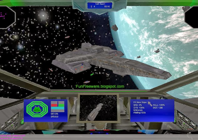 space fighter game Space Combat Screenshot Image