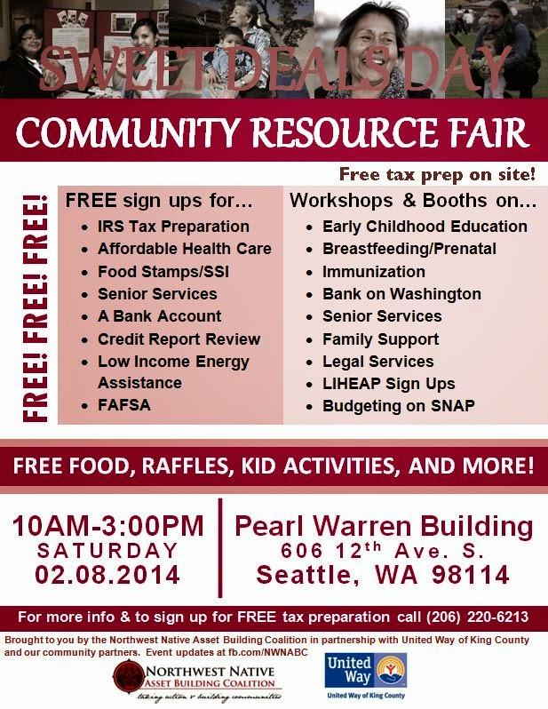 sweet deals day community resource fair this saturday 2 8 14 resource talk