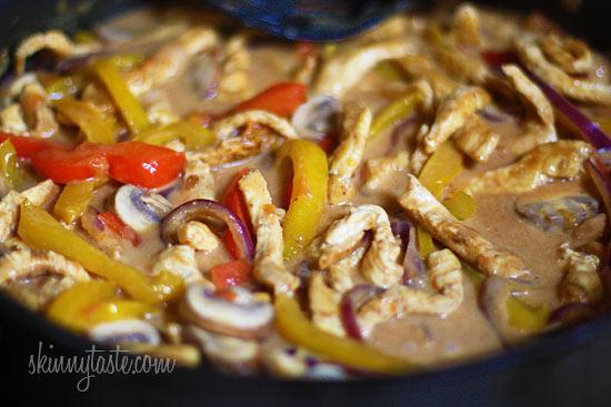 Diet Match: Cajun Chicken Pasta on the Lighter Side