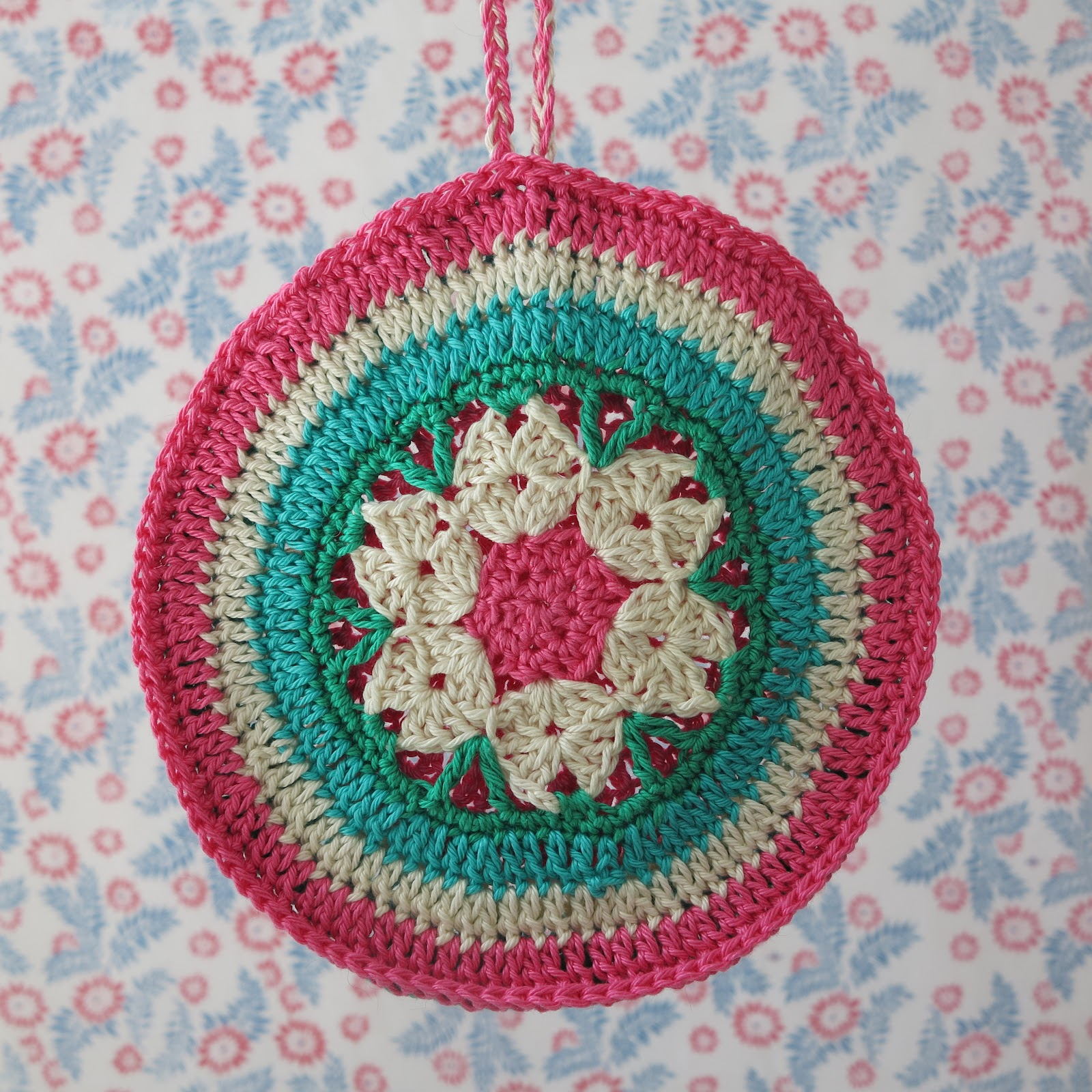 Crochet Potholder : crochet, potholder, Haafner, granny chic, handmade, pastel wallpaper ...