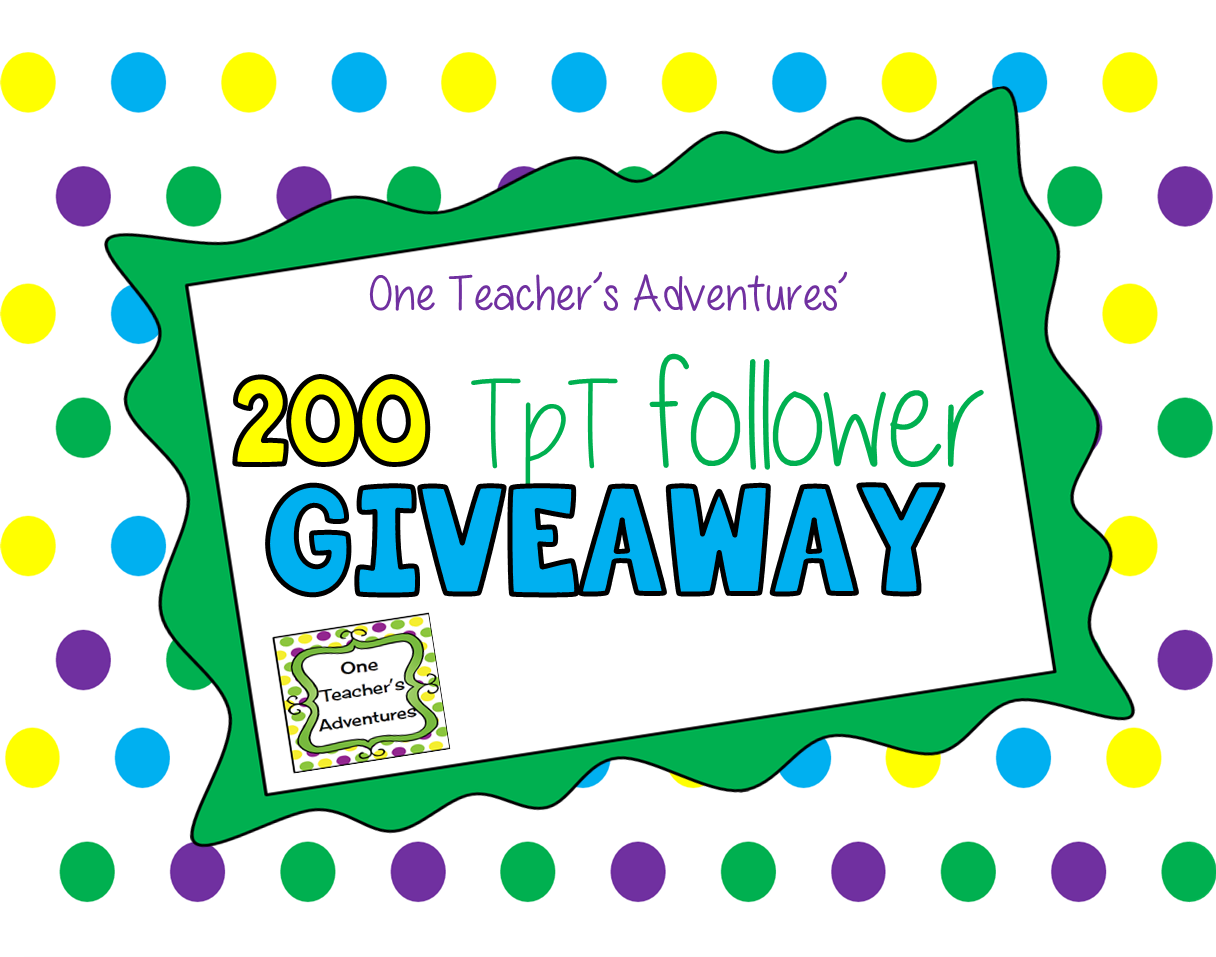 http://www.teacherspayteachers.com/Store/One-Teachers-Adventures
