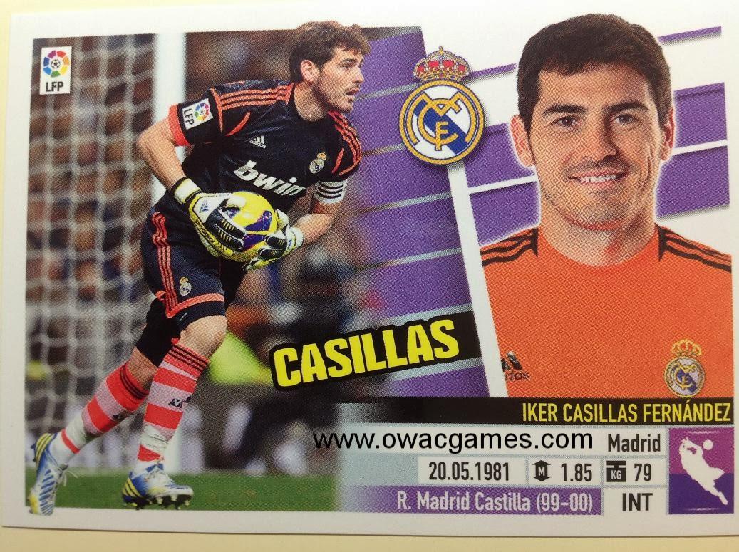 Liga ESTE 2013-14 Real Madid - 1 - Casillas