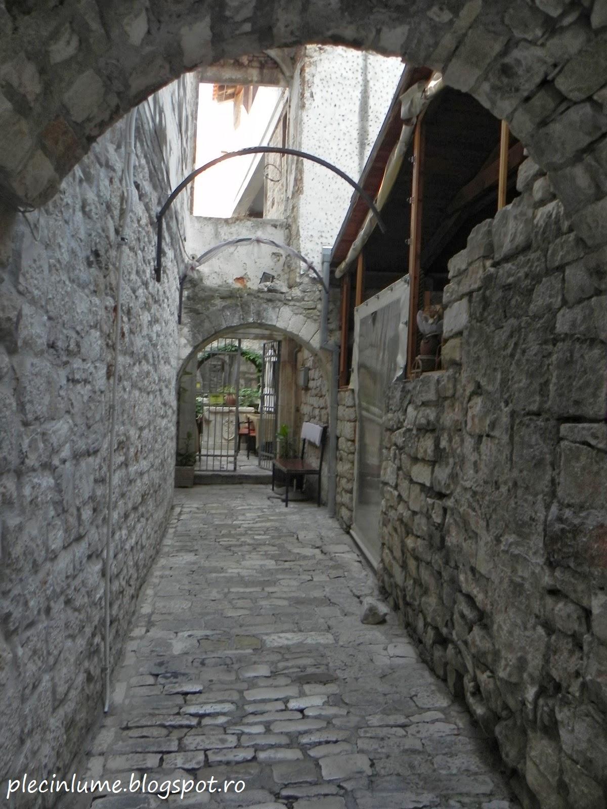 Straduta din Trogir, Croatia