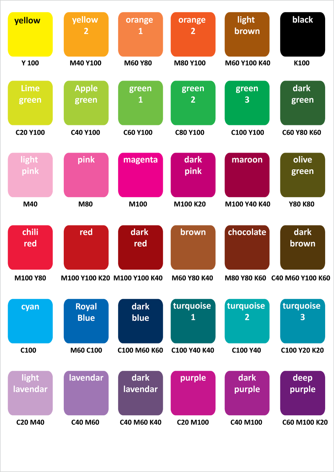 Choose Color Here