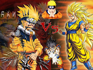 Dragon Ball Z VS Naruto Shippuden MUGEN 2015
