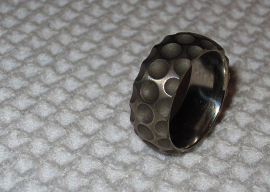 Golf Ball Dimple Ring