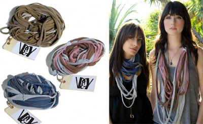 Necklace Made Of T-Shirt - Trendy Fashion Style