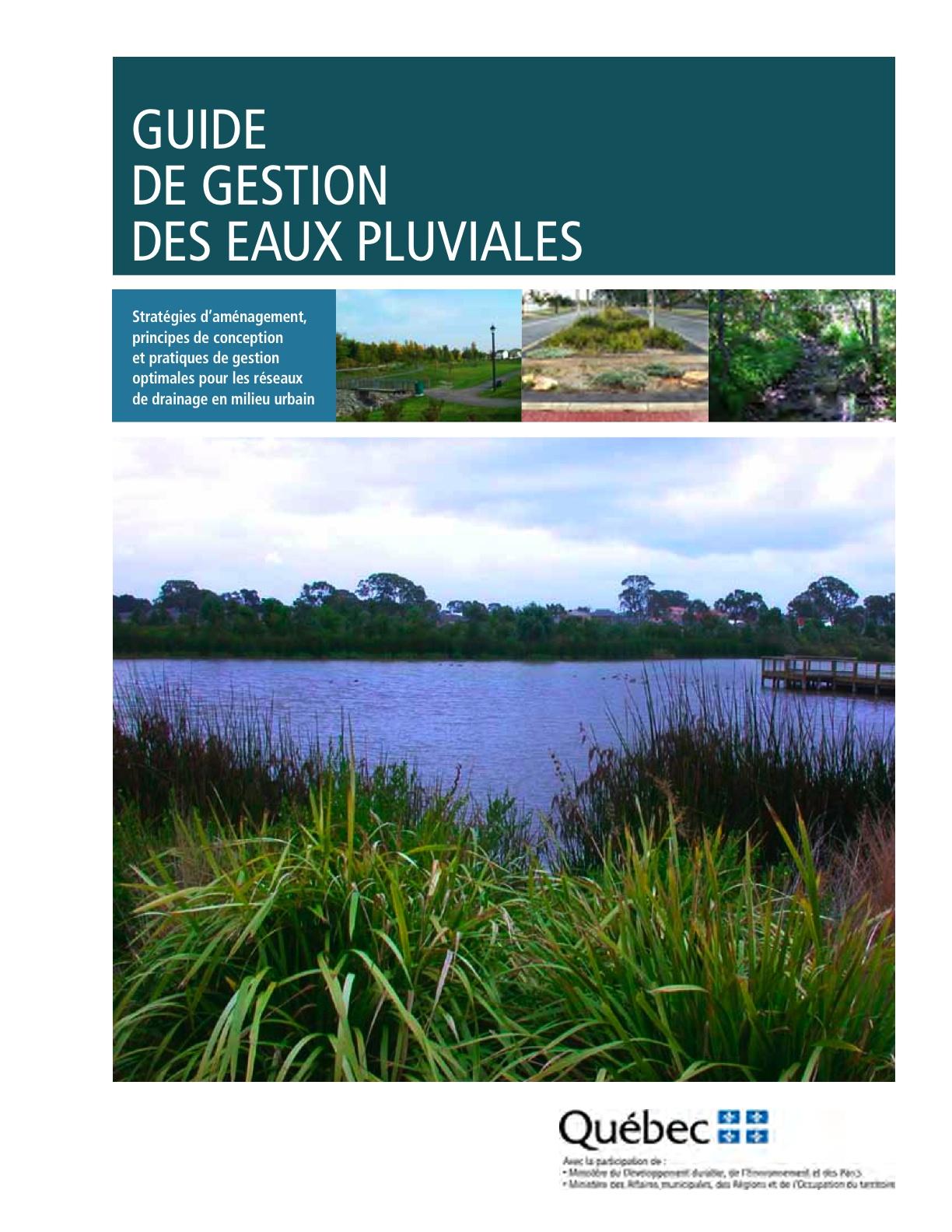 guide de gestion des eaux pluviales