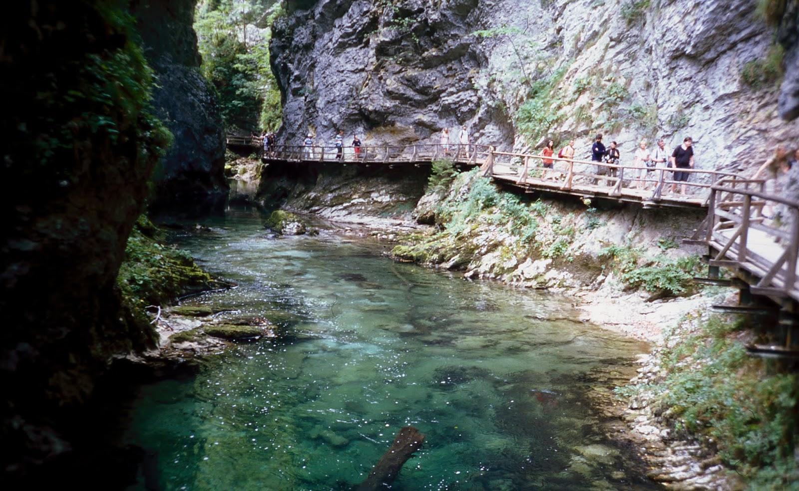 cañón del río vintgar