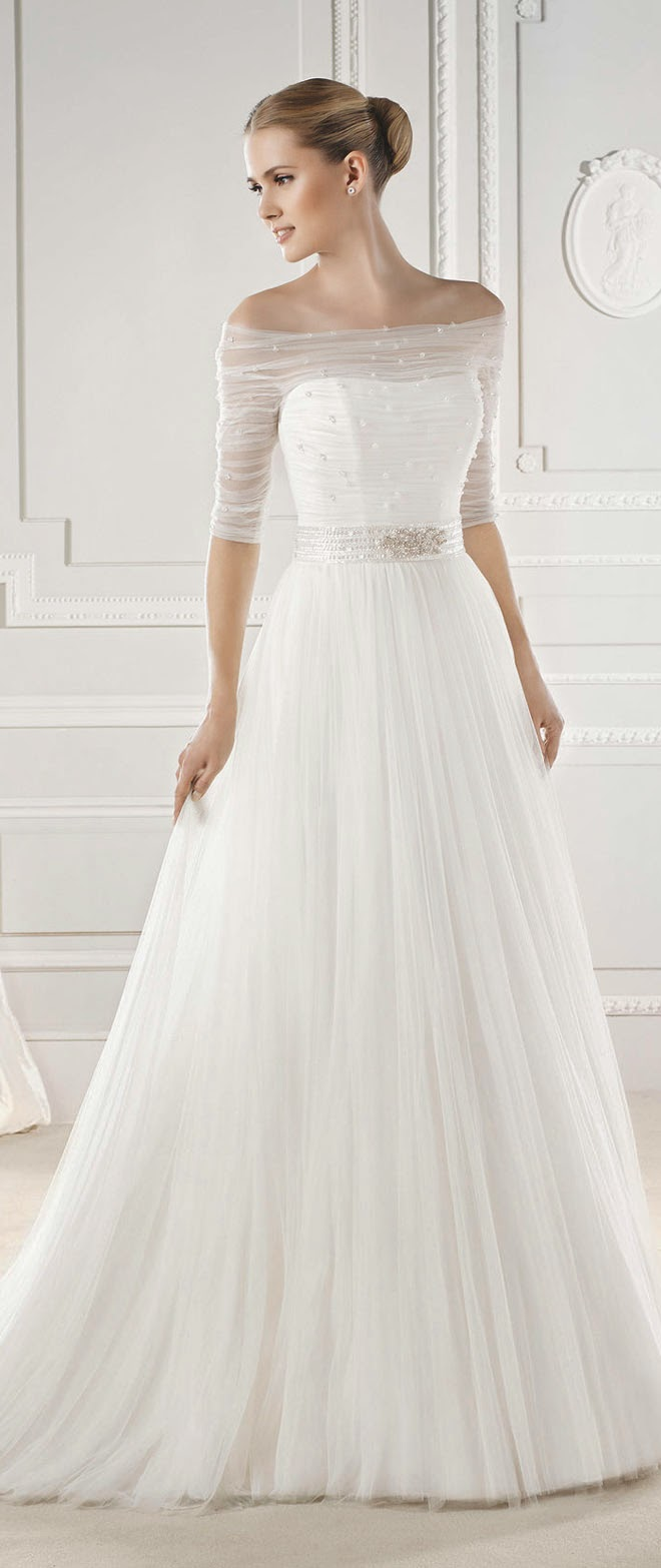 La sposa barcelona 2015 bridal collections belle the for La sposa wedding dresses