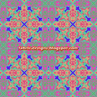 geometric designs on fabric